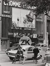 HORST BUCHHOLZ Bru Façade CINEMA Voiture ISASI Coccinelle HILLMAN Paris Photo 65