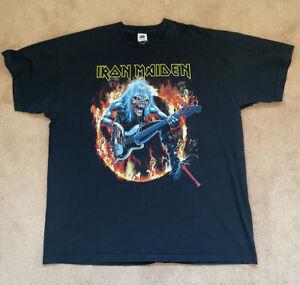 Iron Maiden T Shirt  Mens Size XL. See Description for Measurements