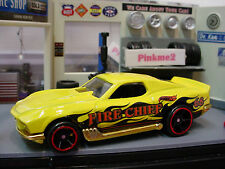 2014 FLAME FIGHTERS Design BLVD. BRUISERS☆Yellow;68 Fire Chief☆LOOSE☆Hot Wheels