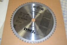 "DML deluxe carbide industrial steel cutting 12"" x 1 x 60T bore 25.4 USA made"