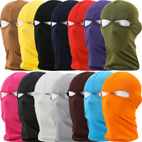 2 Hole Balaclava Cycling Motorcycle Ski  Full Face Mask Bike Neck Cover Warmer
