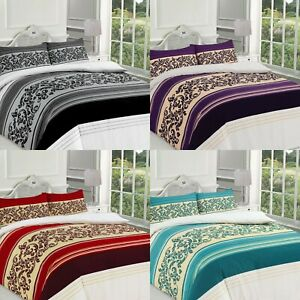 Printed Camilla Design Duvet Cover & Pillowcases Bedding Set All Sizes Available