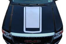 Vinyl Graphics Decal Wrap Kit for 2014-2017 GMC Sierra RACING STRIPES V2 White