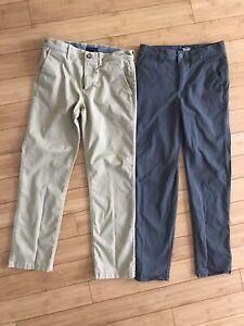Boys pants size 16 Lot Of 2 (Vans/Tommy Hilfiger)