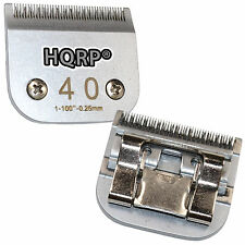 HQRP Size-40 Pet Clipper Blade for Oster A5 Golden A5 Turbo A5 A6 Classic 76 97