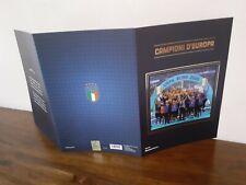 FOLDER POSTE ITALIANE ITALIA CAMPIONI D'EUROPA EURO 2020 CALCIO FOOTBALL EUROPEI