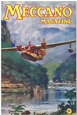 MECCANO MAGAZINE July 1952: RAILWAYS: DINKY TOYS: STAMPS: AVIATION: ENGINEERING