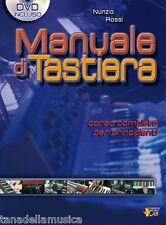 NUNZIO ROSSI - MANUALE DI TASTIERA + DVD