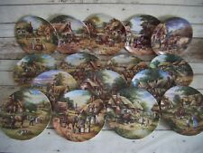 Wedgwood Bone China Collector Plates Chris Howells Country Days Series Set of 16