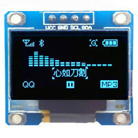 """0.96"""" 128x128 I2C IIC SPI seriell Weiß OLED LED LCD Display Modul ,"""