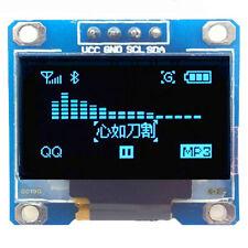 "0.96"" I2C IIC SPI seriell 128x128 Weiß OLED LCD LED Display Modul für Reparatur"