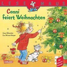 LESEMAUS, Band 58: Conni feiert Weihnachten von Liane Schneider (2014, Taschenbu