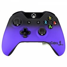 Front Shell Faceplate Replacement for Xbox One Controller 3.5mm Shadow Purple