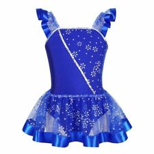 Glitter Dress For Skating Competition Leotard Dancing Clothes Lovely Dance Wear