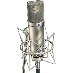 Neumann U 87 Ai Switchable Studio Microphone - Nickel Colour. Delivery is Free