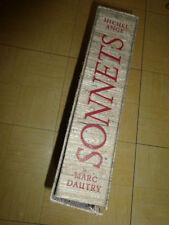 Michel-Ange - SONNETS - Burins et bois originaux de Marc DAUTRY - Dessin signé