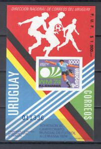 Soccer 1974 A92 Uruguay S/S World Cup Munich Football