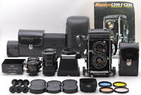 【N MINT】Mamiya C330 TLR Film Camera 55mm f/4.5 105mm f/3.5 180mm f/4.5 JAPAN