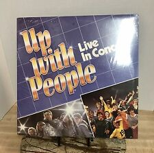 Up With People Live In Concert ( Vinyl Lp ), New & Sealed
