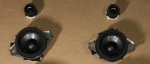 Scion FRS Subaru BRZ Toyota 86 2013-2017 Dash Component Speakers, Genuine OEM