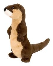 "Wild Republic Cuddlekins 8"" Otter Standing Plush Soft Toy Cuddly Teddy 12397"