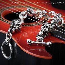Guntwo Korean Mens Fashion Bracelets - Biker, Hip Hop Skull Bracelet B2159 UK