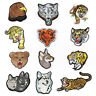 Tiger's DIY Badge Patch Embroidered Sew Iron On Patches Badge Fabric Applique