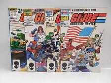G.I.Joe Order Of Battle Marvel Comic Book Handbook Incex Snake Eyes COBRA