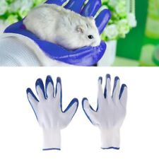 1 Pair Soft Rubber Gloves Pet Hamster Anti Bite Bathing Small Animal Accessories