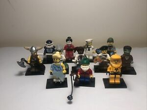 12x BULK SERIES 4 LEGO Minifigures (All complete/ Mint Condition)