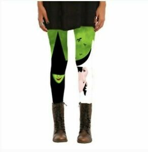 Wicked Leggings Size M Wicked The Broadway Musical women's Stretch