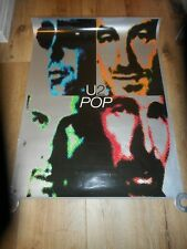 "U2 - Pop - Original Ss Rolled Promo Poster - 24"" X 33"" - 1997"