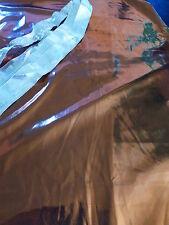 lot les brillants lamés 1m,18 x1m,20 tissus +ruban offert argenté