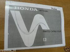 H0264 HONDA---PARTS CATALOGUE 1---MT 50 Pa