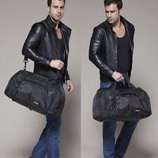 Men's Large Waterproof Nylon Travel Luggage Shoulder bag Handbag Duffle Gym Bags