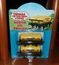 VINTAGE 1993 THOMAS THE TANK ENGINE & FRIENDS SODOR OIL TRUCKS MOC Ertl  #4043