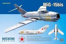 MiG 15 BIS (SOVIET AF ex KOREAN MARKINGS) 1/72 EDUARD