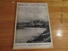 RARE 1947 LES DOCUMENTS ATHENAEUM PHOTOGRAPHIQUES Images De Salzbourg ALPINA