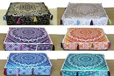 20 Pcs Wholesale Lots Indian Ombre Mandala Floor Cushion Covers Home Decorative