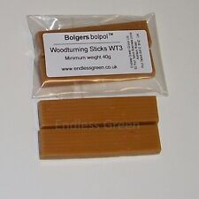 Bolpol woodturning sticks - Rich in carnauba wax with added beeswax Pack of 2