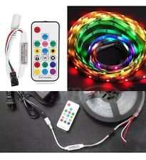 RF Controller 2812/2811 RGB LED Strip Light Lamp DC 5-24V With Key Remote
