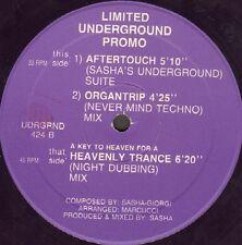 SASHA - A Key To Heaven For A Heavenly Trance Limited Underground UDRGRND 424