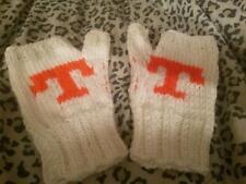 UT Fingerless Hand Knit Mittens Gloves Handwarmers    NEW!