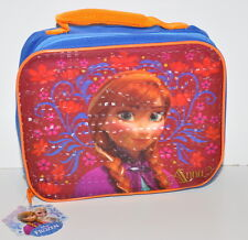 New Disney Frozen Anna Lunch Bag Insulated Soft Lunchbox Back to School