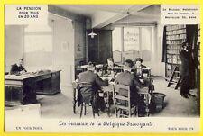 cpa RARE BELGIUM BRUXELLES 3 rue du BASTION Bureau de LA BELGIQUE PRÉVOYANTE