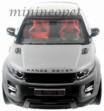 WELLY GT AUTOS 11003 LAND RANGE ROVER EVOQUE 1/18 DIECAST GREY with BLACK TOP