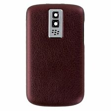 BlackBerry Bold 9000 OEM Replacement Battery Door Back Cover - Dark Red