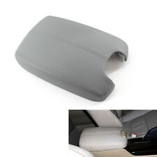 Leather Car Armrest Cover Center Console Armrest Lid Gray for Honda Accord 08 H0