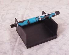 Hand Turned Custom Made Fountain Pen with Arctic Snow Acrylic - Free Shipping