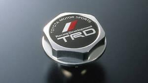 Genuine Toyota TRD Oil filler cap-Aluminum
